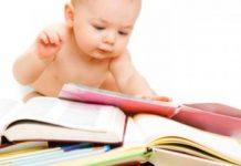 Crianças inteligentes desde bebé