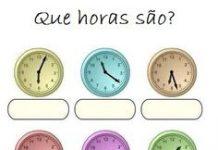 Quantas horas são?