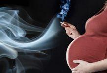 Fumar durante a gravidez