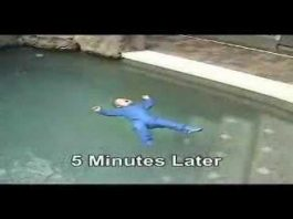 Prevenção para a segurança das crianças na piscina