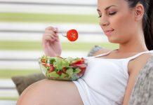 Alimentação saudável durante a gravidez