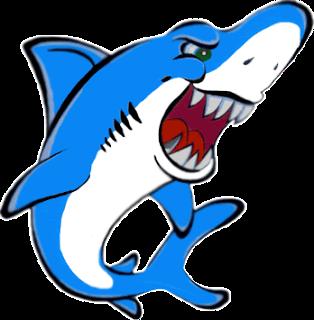 Brincadeira tubarão