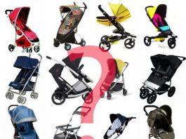 Como escolher o carrinho de bebé
