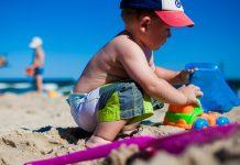 O verão e as queimaduras solares nas crianças