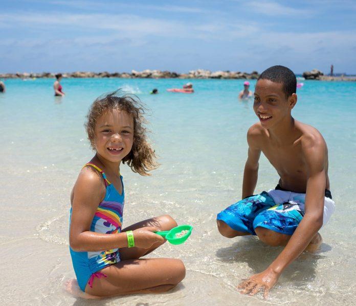 Não esquecer em férias com crianças