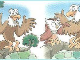 A fábula, a águia e a coruja
