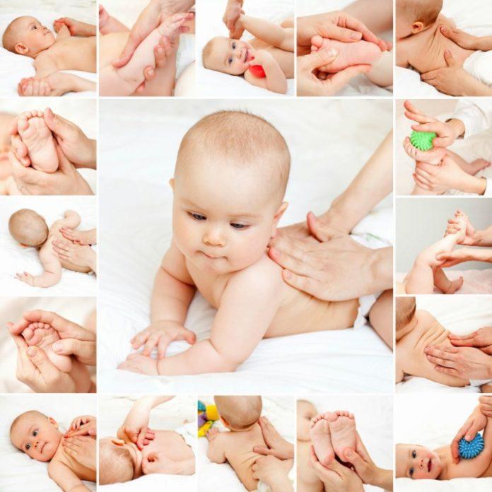 Como fazer uma massagem ao bebé sem medo
