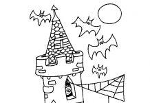 Desenho do dia das bruxas