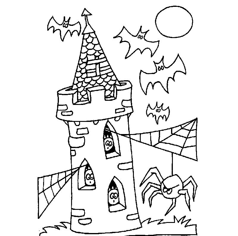 Desenhos Para Colorir No Dia Das Bruxas Abc Do Bebe