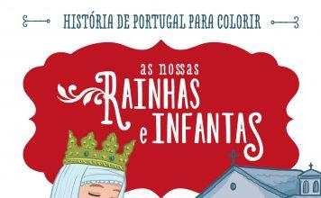 História de Portugal para colorir - Rainhas e Infantas